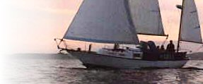 An Offshore Yacht cruising the high seas!